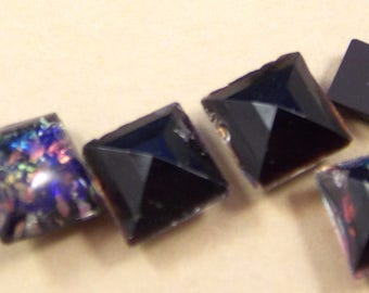 6x6mm, Small Tile,With an Opal effect.24 Pcs,