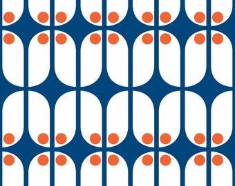 Scandinavian Mod Fabric - Mod Scandinavian By Brainsarepretty - Scandi Mod Home Decor Cotton Fabric By The Yard With Spoonflower