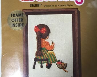 Crewel Embroidery Kit Sewin'