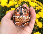 Owl Rattle for Red Tent Women's Circle