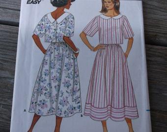 Rare Butterick Misses Dress Pattern 3811 Size 14-18 Uncut