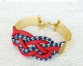 On Sale 40% Off Sailors Knot Bracelet, signature bracelet, rope jewelry
