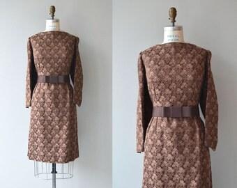 Morrison brocade dress | vintage 1960s dress | brocade 60s dress