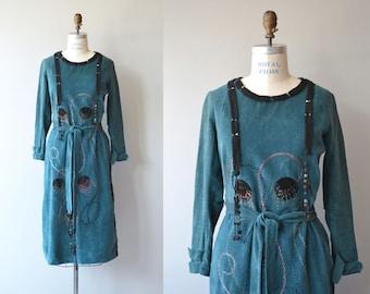 Cosmos velvet dress | vintage 20s dress | velvet 1920s dress