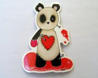 Voodoo Panda Doll Vinyl Planner Sticker