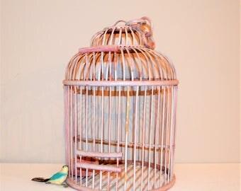 Bird Cage Antique Country Home Decor