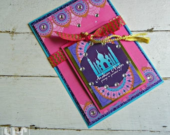 Bollywood Invitations...Set of 10 Bollywood Invitations