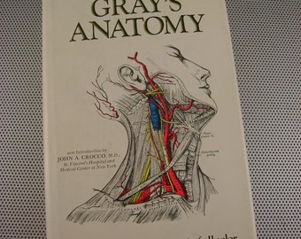 Vintage Gray's Anatomy The Classic Collector's Edition 1977 Illustrated Medical Textbook Hardback Book