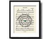Imagine Song Lyric Sheet Music Art Print, John Lennon's Imagine Art , Bealtes Art Print, Song Lyric Art Print, Spiral Words, Music Wall Art
