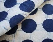 Indigo Linen Fabric, Pillow Fabric, Hemp Fabric, Linen Pillow Fabric, Pillow Material