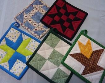 Bargain 5 Pack Pot Holder Collection