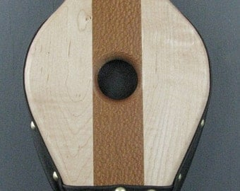 Fireplace Bellows--Lacewood and Tiger Maple (lacquer finish)