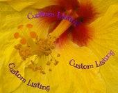 Custom Listing for KAREN MIYAMOTO