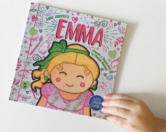 Emma small paperback book for toddler baby Jane Austen Little Literary Classics 6.5 by 6.5 inches