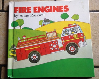 1986 Fire Engines Children's Book