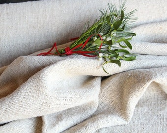 R 458 : antique handloomed 13.66 yards french 리넨 rural rustic  upholstering curtain projects wedding PALE OATMEAL