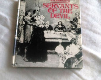 SALE Witch Book Servants Of the Devil by Aylesworth1970 second printing