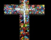 Custom Mosaic China Tile Wall Cross