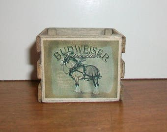 Miniature Budweiser Crate 1:12 scale