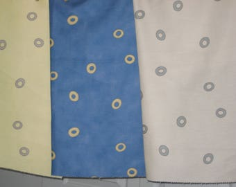 FABRIC Remnants, COMMERCIAL Grade 4 pieces