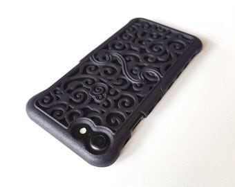 iPhone 7 Made-To-Order (4-6 weeks) Designer Victorian Filigree Swirl Puzzle Case - 8 color options