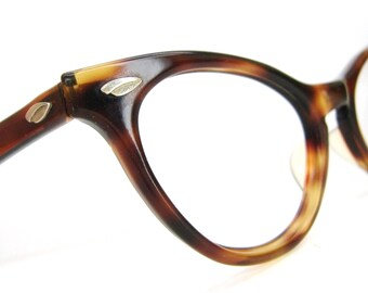 Vintage AO Cat Eye Glasses Eyeglasses Sunglasses Frame