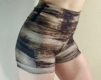 Sassy McHotpants Brushstroke Birch Shorts