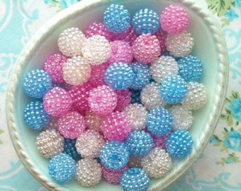 Berry Beads - Candy Mix - 15mm - Set of 20