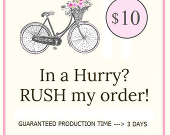 Approved Rush Order