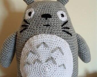 Crochet Totoro Plushie Amigurumi Soft Totoro Toy My Neighbor Totoro Cuddly Toy