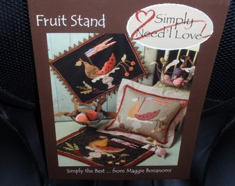 Simply Need'l Love Fruit Stand Simply the Best From Maggie Bonanomi