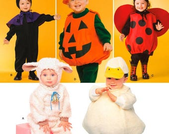 Simplicity 2788 Costumes for Toddlers Size 1/2 - 4  New-Uncut
