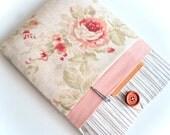 Kindle Cover Wood + Floral Kindle Case, Kindle paperwhite case, Amazon Kindle Fire Sleeve, Custom Fit eReader sleeve