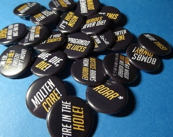 Heroes' Ultimates Pinback Buttons (or Magnets)
