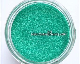 Jojoba Beads, Caribbean Green, 20/40