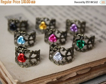 ON SALE Rose Ring - Fairy Tale Jewelry - Flower Ring