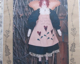Sweet Annie/Craft Sewing Pattern by Waltzing with Bears/1997/26 in Doll/Primitive Decoration