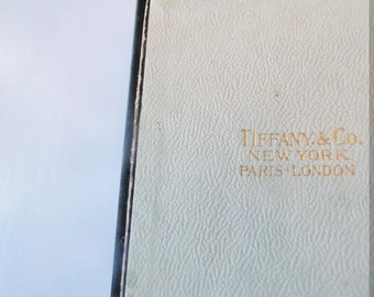 Tiffany & Co Box Jewelry Vintage Display Gift Box