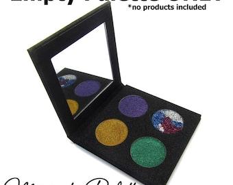 Empty Sparkle Palette-Create Your Own Palette 4 Pan