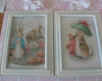 Peter Rabbit and Benjamin Bunny Framed Prints
