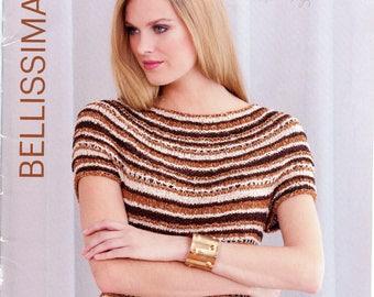 "Bellissima - ""Shop Copy"" Filatura di Crosa Knitting Pattern Book Spring Summer 2013 - Women, 13 Designs"