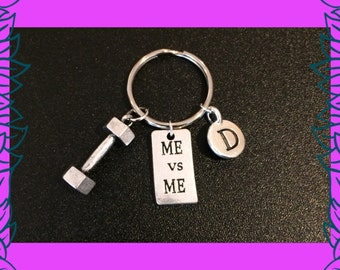 Fitness gift, fitness motivation, 3D dumbbell charm, gym motivation gifts