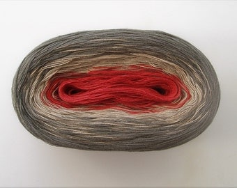 ROBIN -- Color Changing Cotton yarn -- 480 yards/100 gr -- Fingering Weight