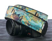 Tropical Fish Camera Strap, Ocean, dSLR, SLR, canon camera strap, nikon camera strap, camera neck strap, mirrorless camera,101