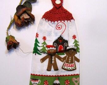 Kitchen Hanging Towel,  Kitchen supplies, Hostess Gift, Handmade by NormasTreasures
