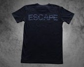 The REACH / ESCAPE Parkour T-Shirt - Black on Black