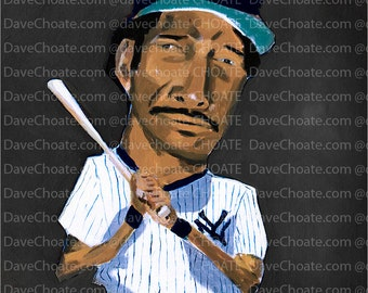 Dave Winfield, New York Yankees Art Photo Print