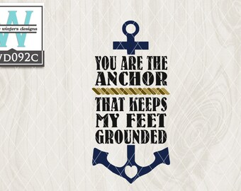 SVG Nautical Themed Cutting File kwd092c dxf svg eps png