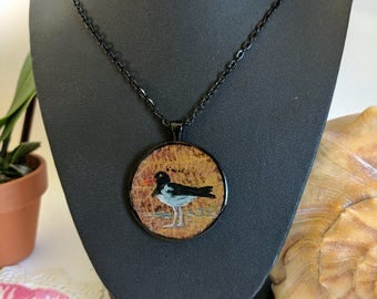 Oyster Catcher Pendant