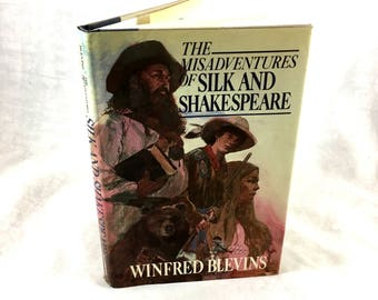 1985 The Misadventures of Shakespeare. by Winfred Blevins. Adventure Fiction. Excellent Condition. Rocky Mountain Story